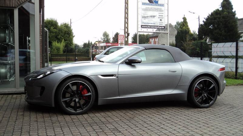 Jaguar F Type Genesis Volt Genesis Volt Satin Black